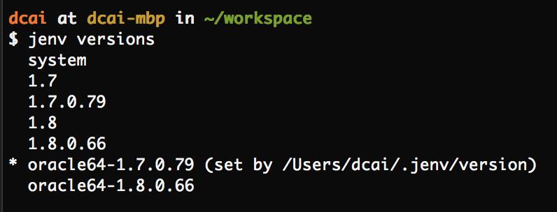 Install Multiple Java Versions on Mac